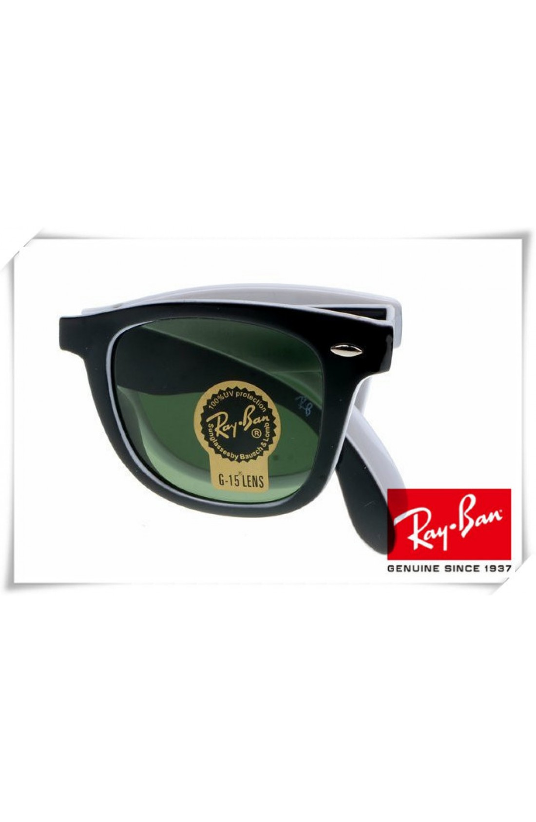 Ray Ban Black And White Frames