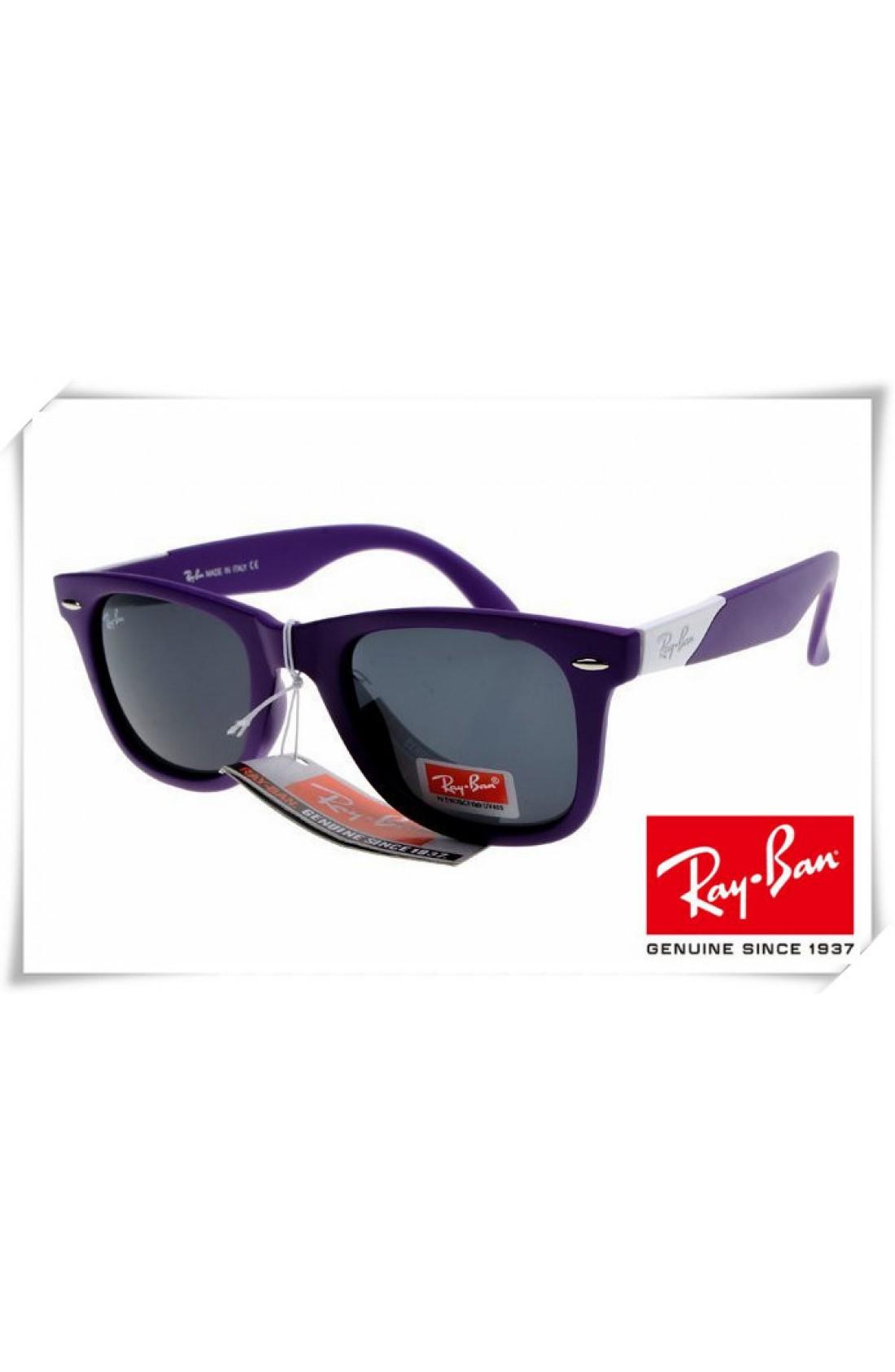 Ray Ban Purple Frames
