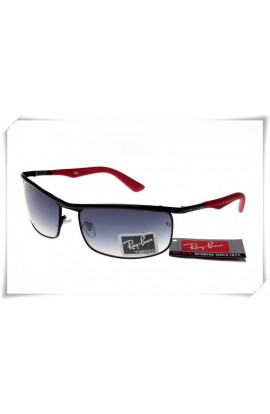 fbe836bc4 Ray Ban RB3459 Sunglasses Black Red Frame Grey Gradient Lens